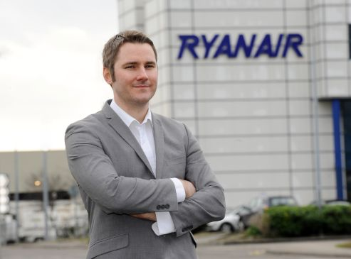 Robin Kiely: YouGov ranked Ryanair as the most improved brand in the UK last year