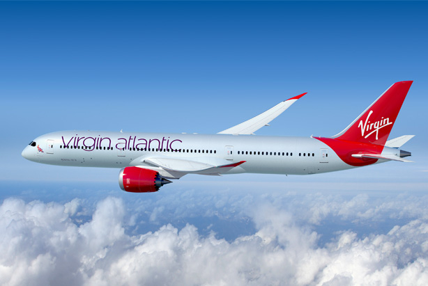 Virgin Atlantic: Picked Cake to support the launch of its 787-9 Dreamliners fleet