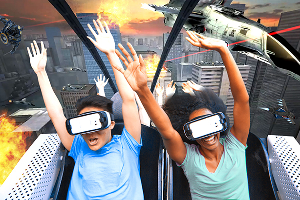 Samsung is teaming up with Six Flags to introduce North America's first VR roller coasters