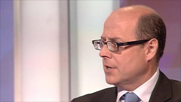 Nick Robison: The BBC's political editor
