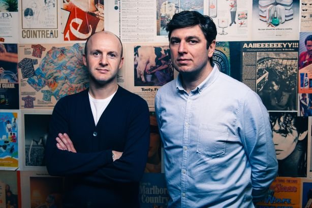 Founding partners of The Academy: Mitchell Kaye and Daniel Glover