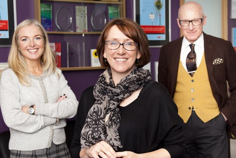 Acceleris team: (left to right) Louise Vaughan, Sandra Hobson and Peter Davenport