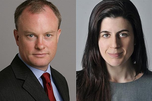 Alex Aiken and Vodafone's Amanda Andrews: speaking at PR360 in London