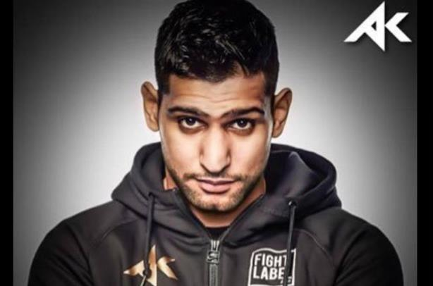 Boxer Amir Khan seeking global PR support (via @AmirKhanThePage on Facebook)