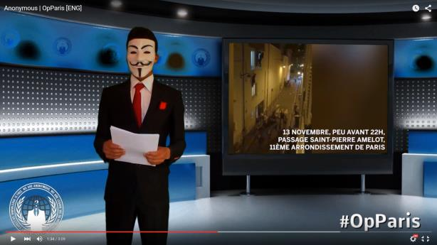 Anonymous' call to arms posted in numerous languages on YouTube
