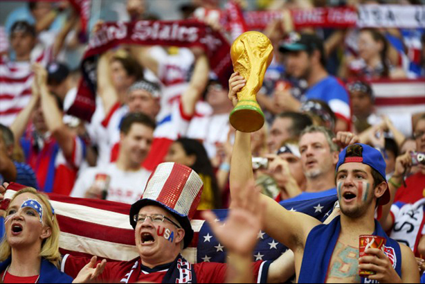 U-S-A, U-S-A, U-S-A: The most common fan type in the US is the 'connection' fan