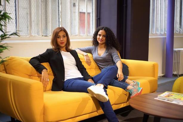 Babbler cofounders Sarah Azan (l) and Heather Oiknine.