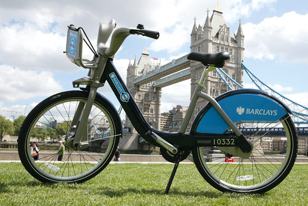 Barclays Bikes: Set to be promoted by Grayling through a series of roadshows