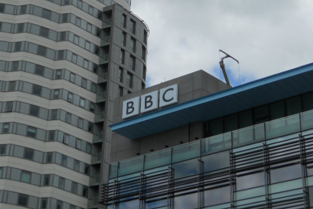 A BBC building in Salford Quays (credit: Mikey on flickr)