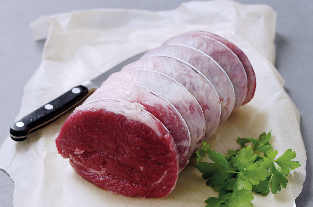 The aim of the game is to put English lamb and beef back on the menu in Europe