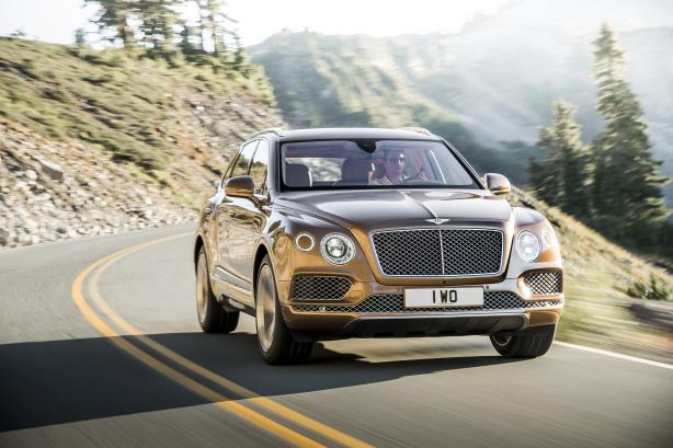 One of Kuhlman's first jobs will be to introduce the recently launched Bentayga SUV (above) to the Americas market