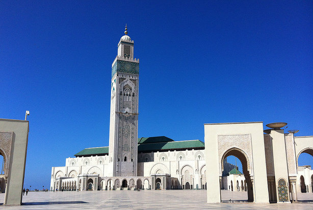 Mosque Hassan II, Casablanca (Credit: Andrew Nash via Flickr)