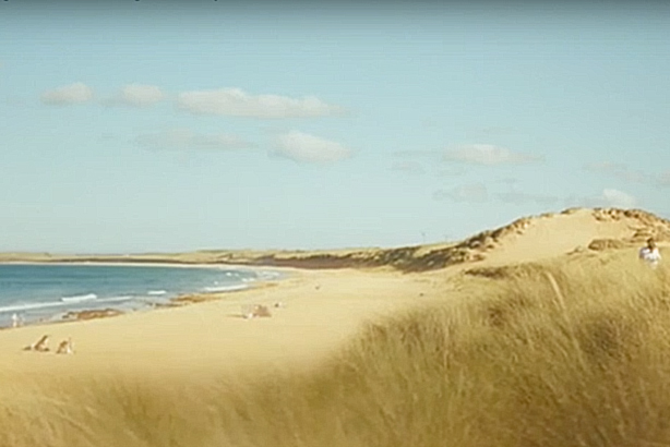 The Coastguard campaign juxtaposes a beautiful beach scene with harrowing audio from a real 999 call