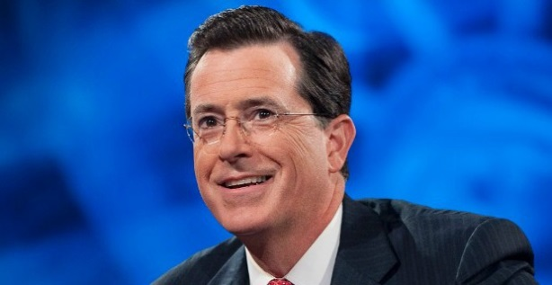 Stephen Colbert will replace David Letterman as the Late Show's host next year.