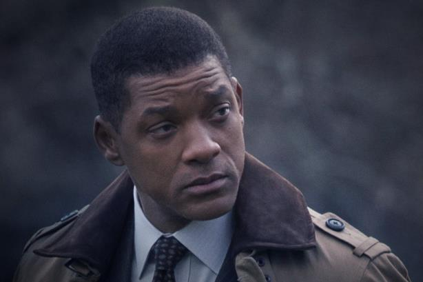 Will Smith in 'Concussion.' (Image via the film's Facebook page).