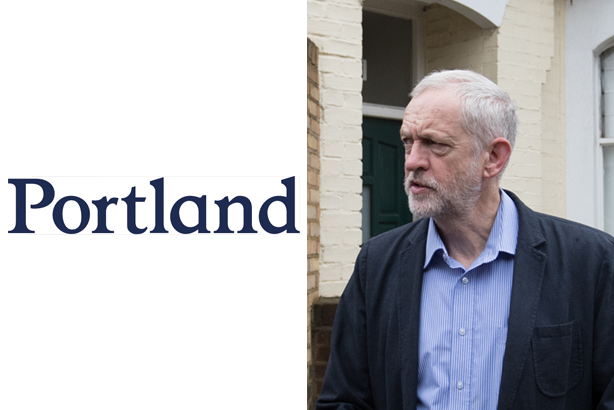 Jeremy Corbyn: Portland has denied involvement in a plot to oust the Labour leader (Credit: Matt Cardy/Getty Images)