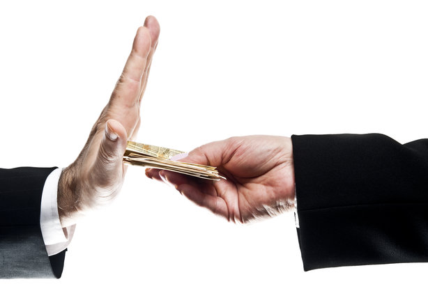 The Government must do more to tackle corruption, warns Transparency International (©fuzzbones0/ThinkstockPhotos)