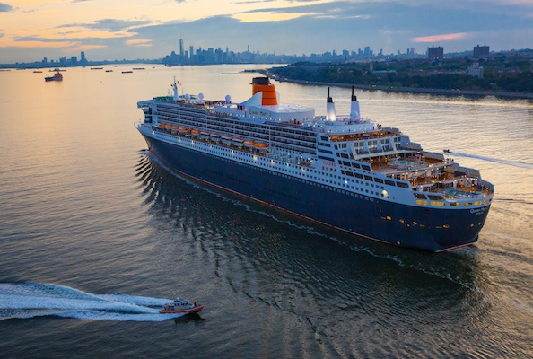 The Queen Mary 2 liner, operated by Cunard