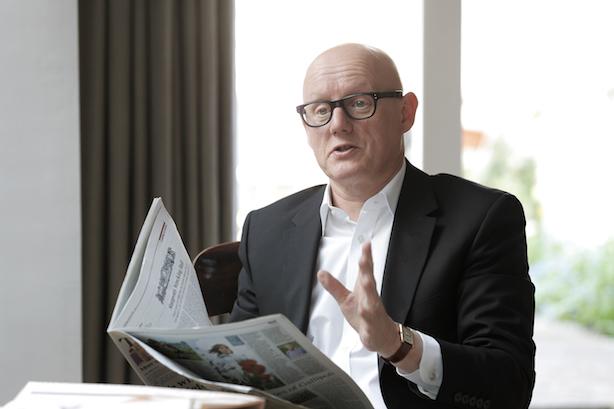 David Yelland: Had an 18-year journalism career before working for Weber Shandwick and Brunswick