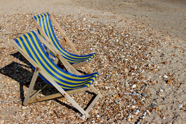 Life's a beach in Bournemouth: But tough times continue in the public sector