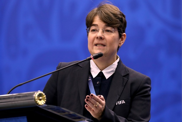 Delia Fischer to step down as FIFA's head of media this month (credit: Getty Images/Alexander Hassenstein)