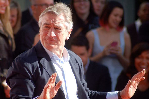 Robert De Niro said an anti-vaccination documentary won't air at the Tribeca Film Festival this year. (Photo credit: By Angela George, CC BY-SA 3.0).