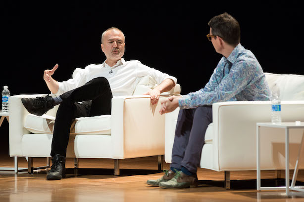 Nick Denton at Percolate's Transition Conference on Tuesday.