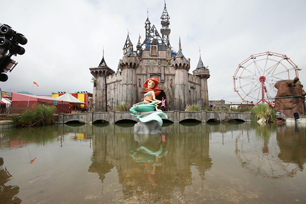 "Dismaland: The Disneyland parody offers an ""escape from mindless escapism"", organisers say"
