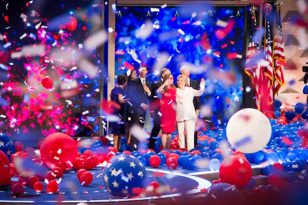 The Democrats close out their convention in Philadelphia. (Image via the convention's Twitter account).