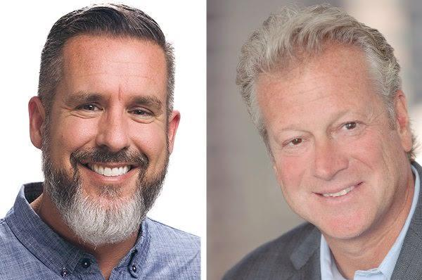 ReviveHealth CEO Brandon Edwards (l) and Weber Shandwick counterpart Andy Polansky.