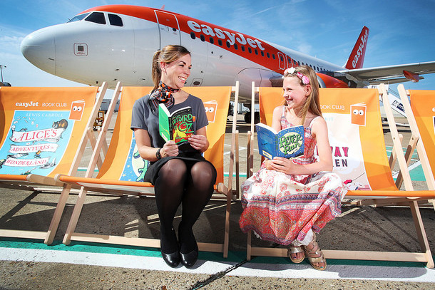 Take off: easyJet launches flying library campaign for kids