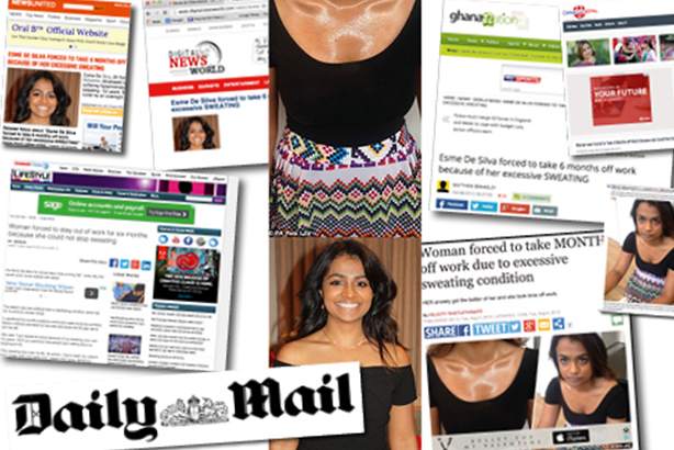 Coverage: The Press Association article ran in several national newspapers