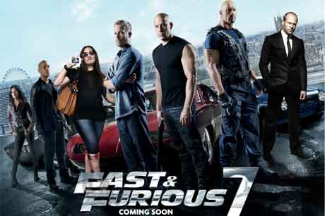 Fast & Furious 7: Brand tie-ups to be promoted by Alexander PR with A List Entertainment