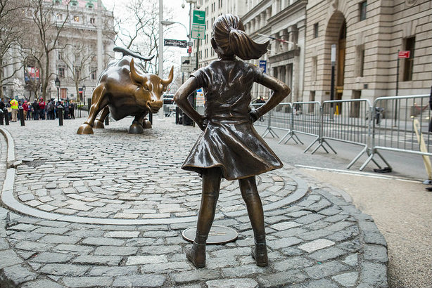 Fearless Girl (©Anthony Quintano via Flickr)