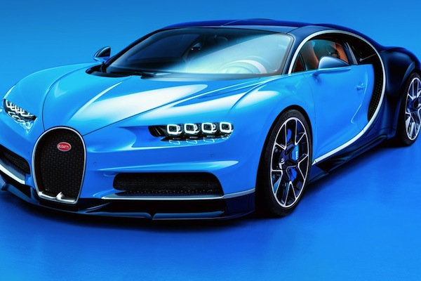 The Bugatti Chiron, unveiled at the Geneva Auto Show (source: Bugatti)