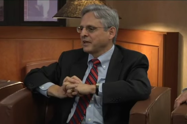 Merrick Garland, President Obama's nominee to the Supreme Court (George Washington University Law School)