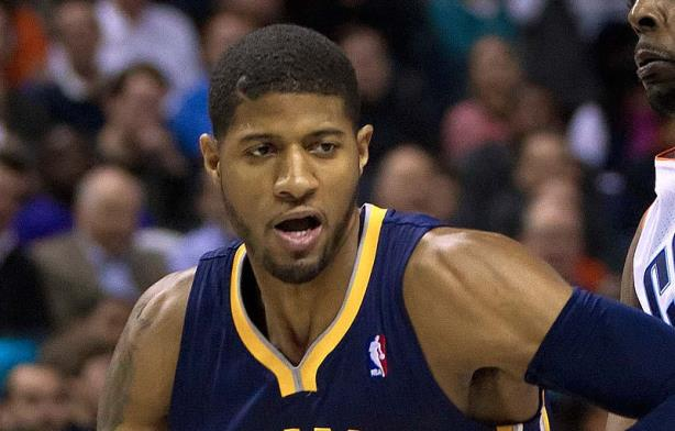 All-star forward and Pacers PR intern Paul George