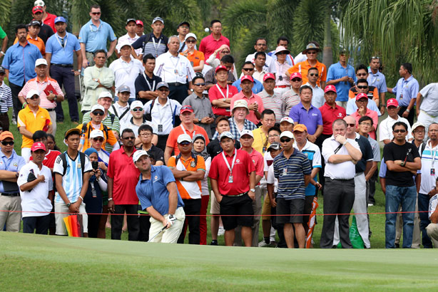 Graeme McDowell: playing in the European Tour's EurAsia Cup (Credit: Getty Images)