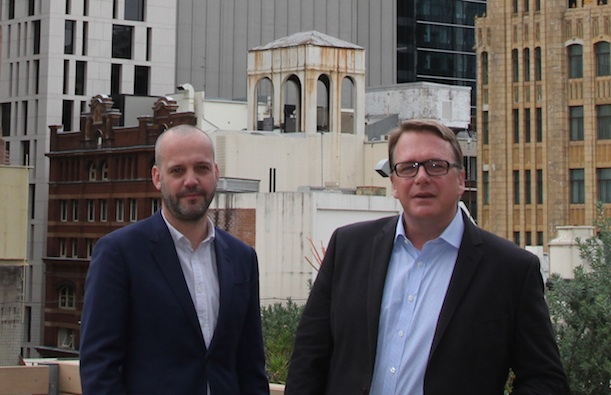 Mark Campbell, head of content and Rogan Gilhespie, head of data (APAC)