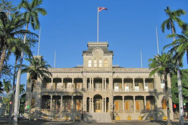 'Iolani Palace in Honolulu