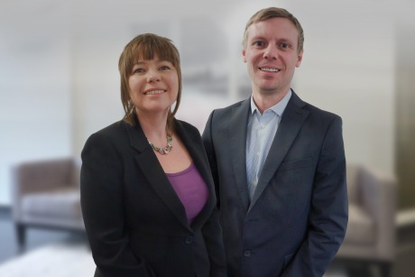Cherie Pearce and Adrian Chesney: Now company directors following MBO