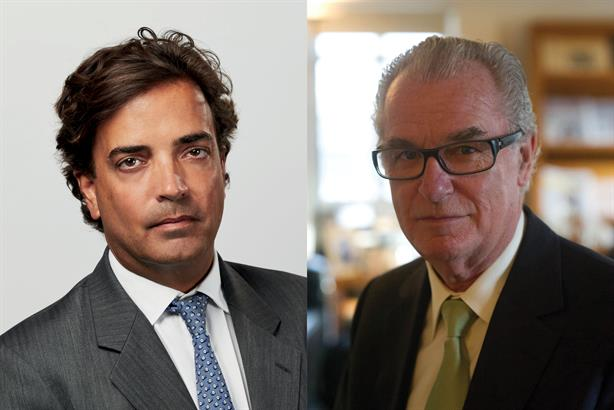 Henderson (l) leads Bell Pottinger post-Bell (r)