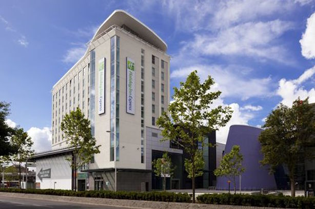 "Holiday Inn Express: Says the incident was due to a ""suspicious booking pattern"""