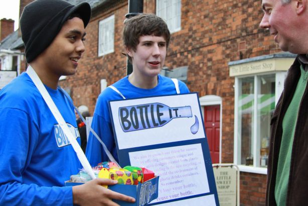 Young Enterprise: Targets opportunities for young people