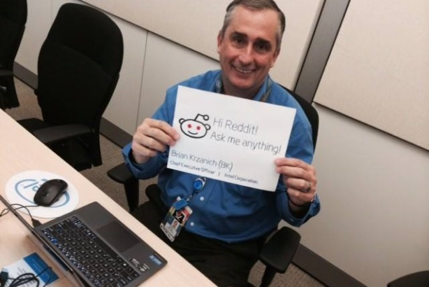 A recent Reddit AMA with Intel CEO Brian Kraznich