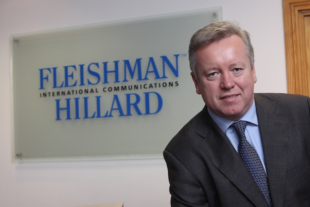 Shutting down Kiev office: FleishmanHillard EMEA president John Saunders (picture credit Chris Bellew/Fennell Photography)