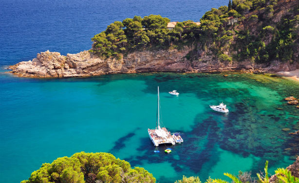 Lesser-known charms: Lloret de Mar, on the Costa Brava, is 70km east of Barcelona