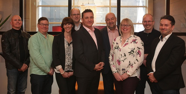 CIPR's board includes MacKenzie (centre) and Byrne (far left)