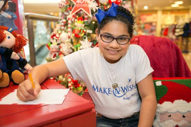 Macy's is one company that donates to Make-A-Wish. (Image via the organization's Facebook page).