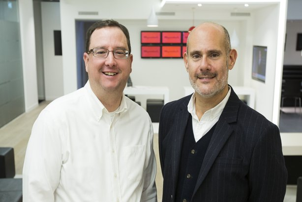 Promotions at Ogilvy: Marshall Manson (left) and Michael Frohlich